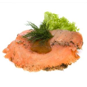 Smørrebrød gravad laks- Th Sørensens online bestilling