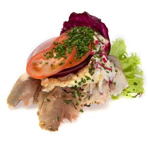 Smørrebrød røget makrel- Th Sørensens online bestilling