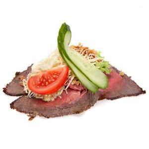 Smørrebrød roastbeef med remoulade - Th Sørensens online bestilling