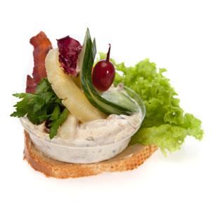 Smørrebrød luksus hønsesalat - Th Sørensens online bestilling