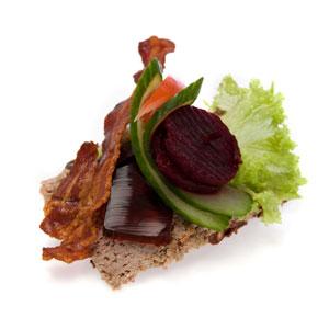 Smørrebrød hjemmelavet leverpostej - Th Sørensens online bestilling