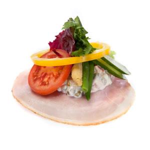 Smørrebrød skinke italiensk - Th Sørensens online bestilling