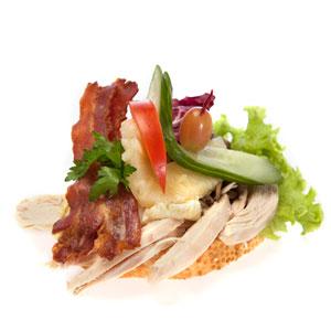 Smørrebrød kogt høne - Th Sørensens online bestilling