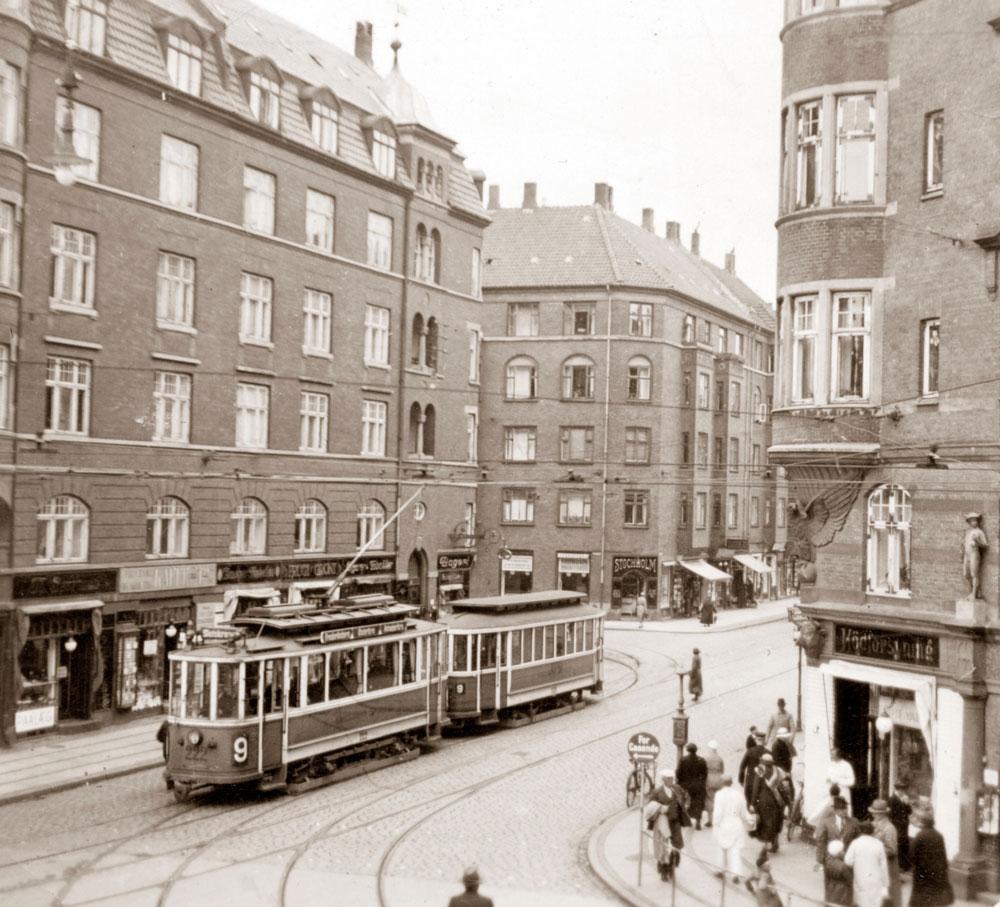 Holmbladsgade i 1930 erne , foto via Richard Struck