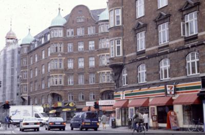 Holmbladsgade & Amagerbrogade 1998, foto af Kbh Produktionsskole